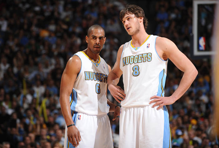 The returns of Arron Afflalo and Danilo Gallinari will do wonders for Denver this season. (Getty Images)