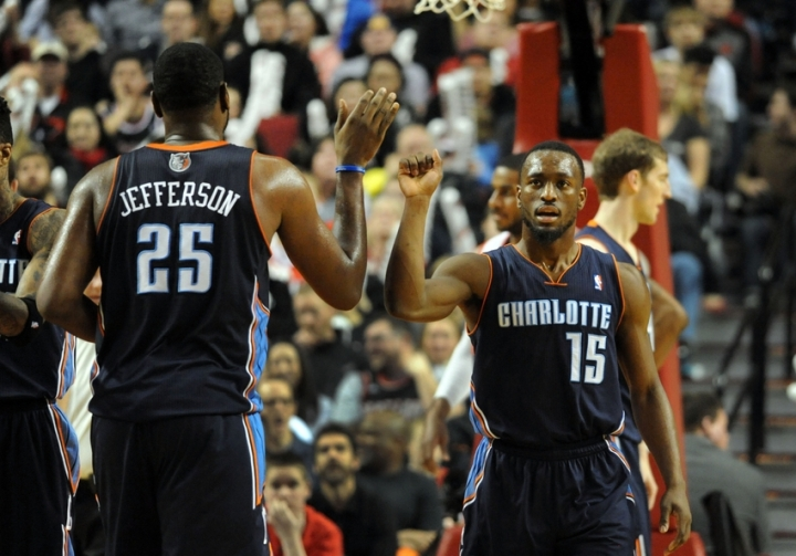 NBA: Charlotte Bobcats at Portland Trail Blazers