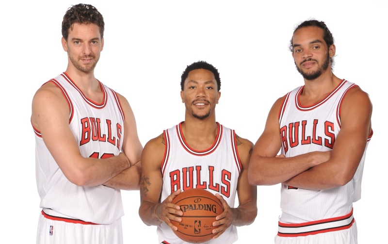 With a new Big 3, the Bulls are poised to capture their 7th NBA title. (Getty Images)