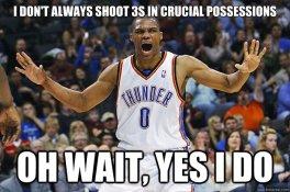 Westbrook 3s