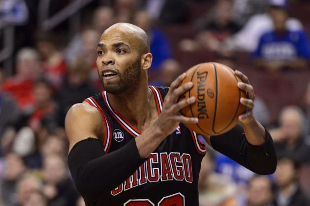 Taj Gibson is one of the many UnderDOGS who excel in the NBA. (Howard Smith/USA Today Sports)