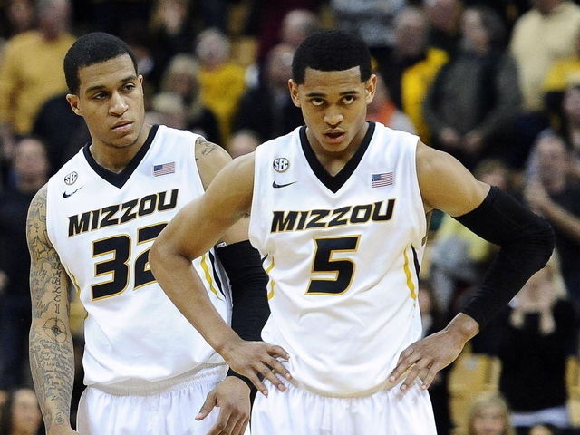Jabari Brown & Jordan Clarkson, former Missouri Tigers, are keepers for the Lakers. (Dak Dillon/USA Today Sports)