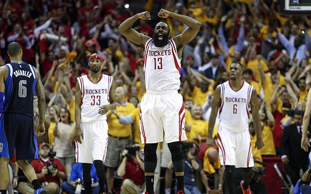 NBA: Playoffs-Dallas Mavericks at Houston Rockets