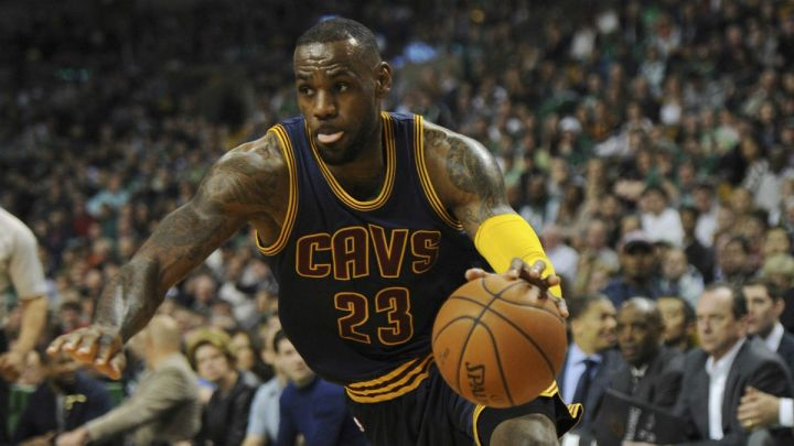LeBron James is now 10-0 in the first round. (Associated Press)