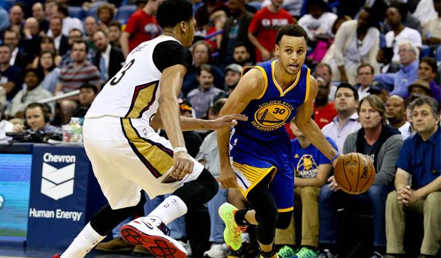 Steph Curry v. Pelicans