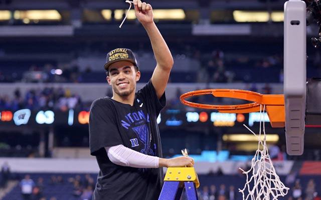Will Jones be as big a success in the pros? (Getty Images)