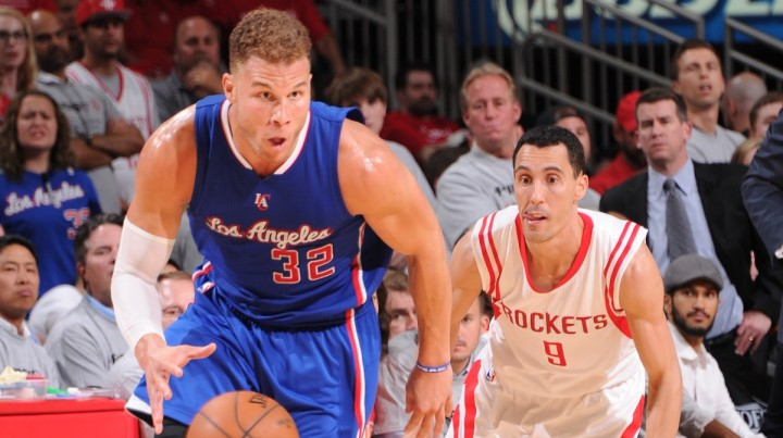 Blake Griffin went full video game mode last night. (Getty Images)