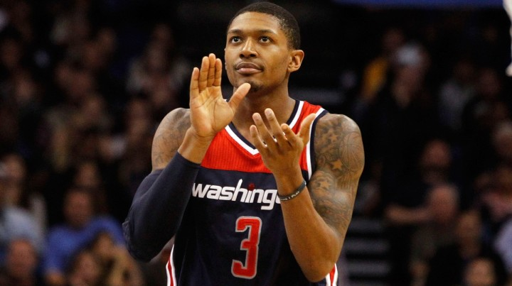 Washington's slim hopes lie on the shoulders of Brad Beal. (Kim Klement/USA TODAY Sports)