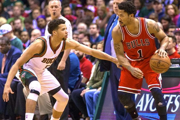 After dispatching the Bucks, D. Rose and the Bulls look ahead to Cleveland. (Getty Images)