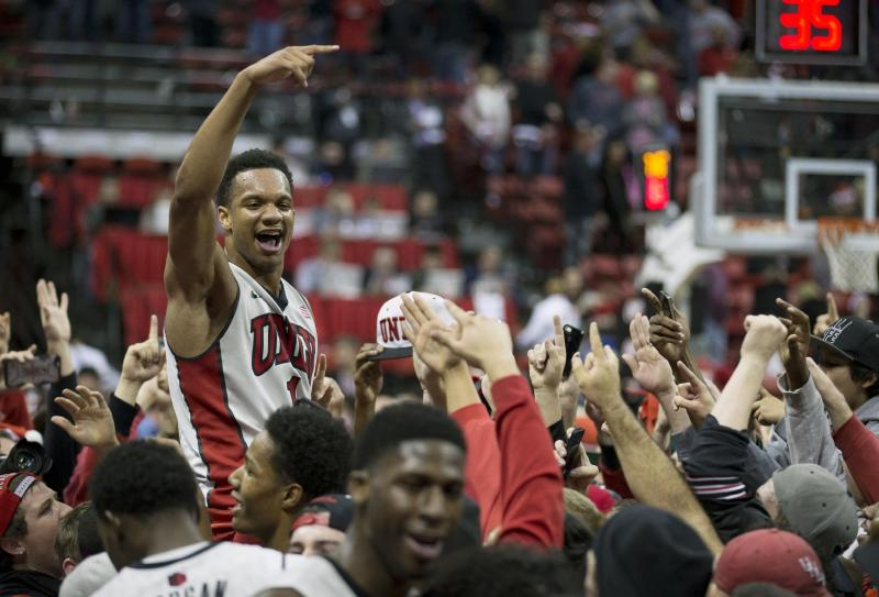 Rashad Vaughn can score in bunches. (Getty Images)