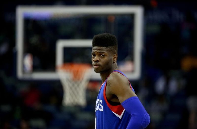 No one is safe. Not even you, Nerlens Noel. (Getty Images)