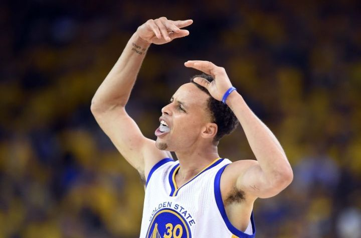 Steph Curry and the Warriors on the brink of glory. (Bob Donnan/USA TODAY Sports)