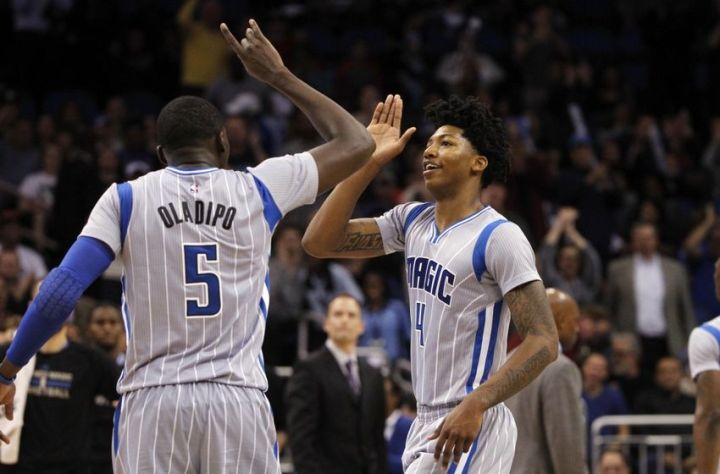 Which draft pick should join Orlando's talented backcourt dup of Victor Oladipo & Elfrid Payton? (Kim Klement/USA TODAY Sports)