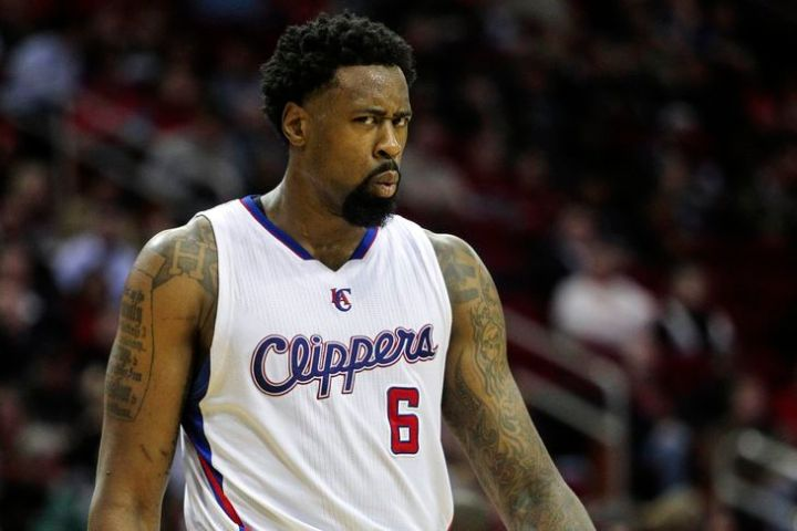 DeAndre Jordan is back with the Clippers...but it wasn't easy! (Troy Taormina/USA TODAY Sports)