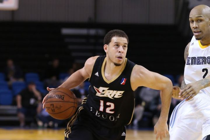Seth Curry is finally ready to be a productive NBA player. (Tim Cattera/NBAE via Getty Images)