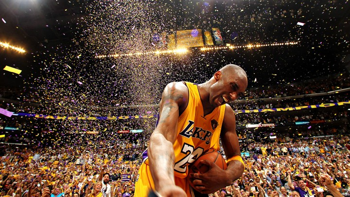 Kobe Bryant: one of the NBA's fiercest competitors. (Nathaniel S. Butler/NBAE via Getty Images)