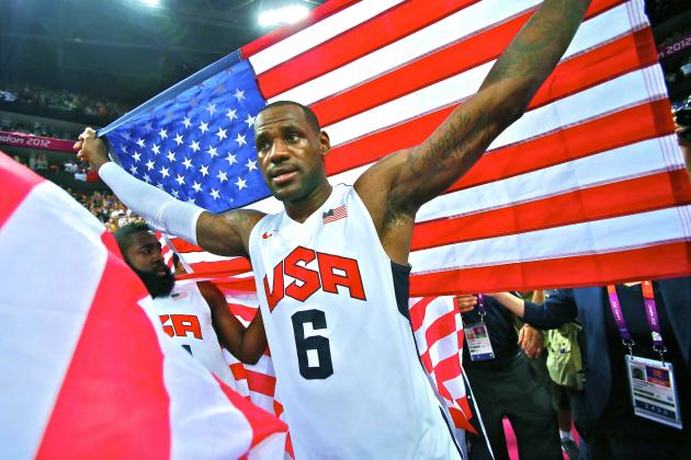 LeBron James is back for another go round with Team USA. (Getty Images)