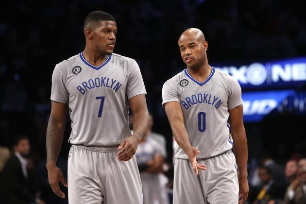 The Nets will rely heavily upon Johnson & Jack in 2015-16. (Jason DeCrow/Associated Press)