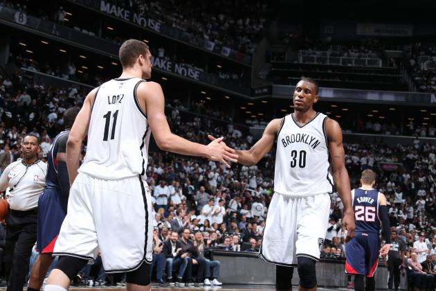 Despite retaining both Brook Lopez & Thaddeus Young in free agency, the Nets are in for a long season. (Nathaniel S. Butler/Associated Press)