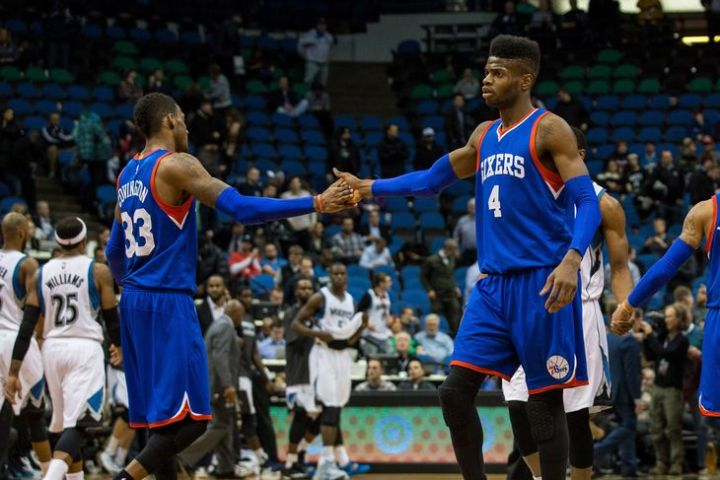 Robert Covington & Nerlens Noel look to take the next step in their production in 2015-16. (Getty Images)