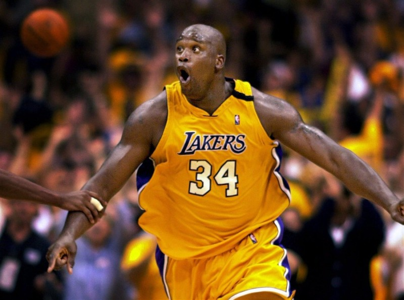 Shaquille O'Neal delivered the knockout punch to the Portland Trail Blazers in 2000 on the way to his second Finals appearance. (Getty Images)