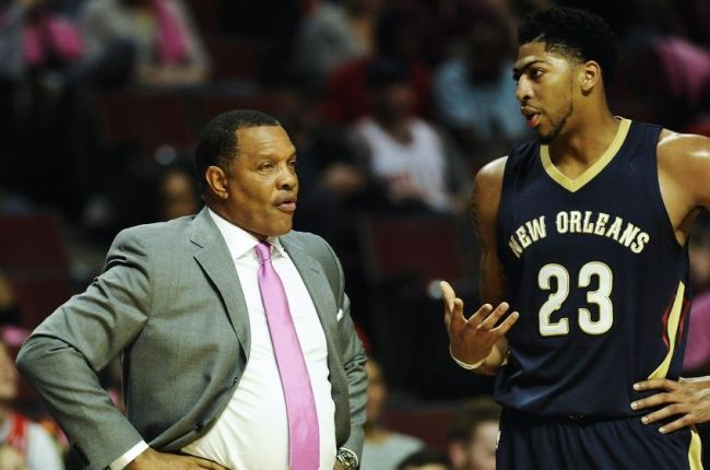 Anthony Davis and Alvin Gentry may be the perfect fit. (Matt Marton/USA TODAY Sports)