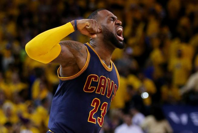 LeBron and the Cavs are ready to win it all. (Ezra Shaw/Getty Images)