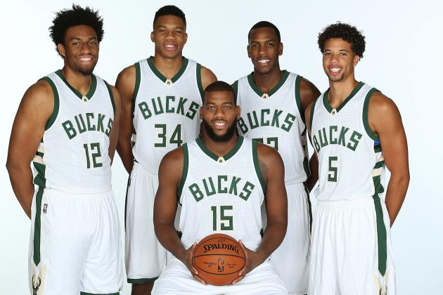 Greg Monroe (center) could end up being Milwaukee's missing piece. (Gary Dineen/Getty Images)