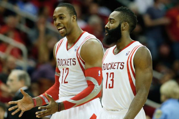 Houston's dynamic duo has plenty of help this season. (Getty Images)