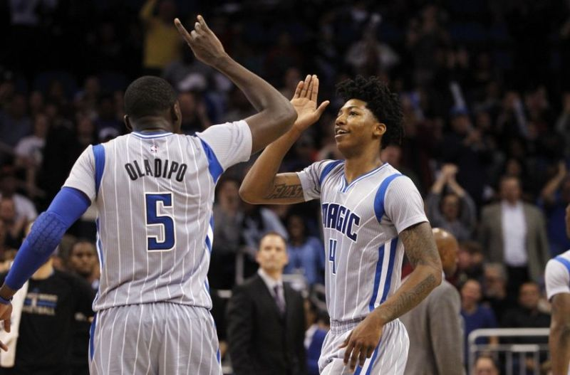 Victor Oladipo & Elfrid Payton are one the league's top up and coming backcourts. (Kim Klement/USA TODAY Sports)