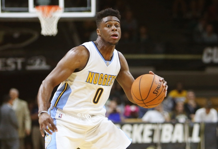 Emmanuel Mudiay is ready to lead Denver into the future. (Chris Humphreys/USA TODAY Sports)