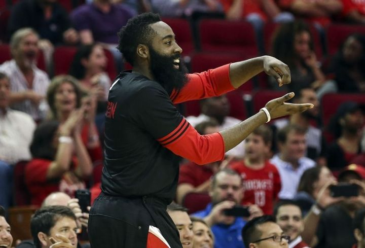 James Harden is in line to challenge for MVP honors again. (Getty Images)