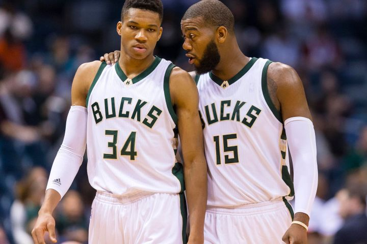 Giannis Antetokounmpo & Greg Monroe could both become All-Stars in 2015-16. (Jeff Hanisch/USA TODAY Sports)