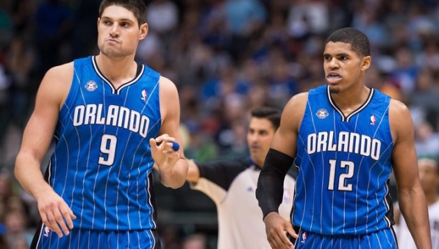 Nik Vucevic & Tobias Harris are two of the most underrated players around. (Jerome Miron/USA TODAY Sports)