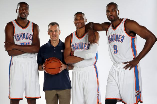 Billy Donovan is the fresh voice OKC needed. (Layne Murdoch/Getty Images)