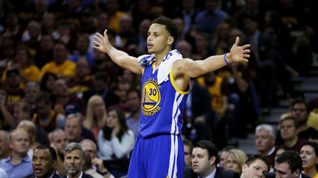 Stephen Curry is starting to become a transcendent figure. (Ezra Shaw/Getty Images)