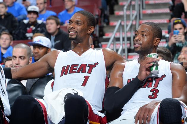 Chris Bosh and Dwyane Wade are ready to rule South Beach once again. (Jesse D. Garrabrant/Getty Images)