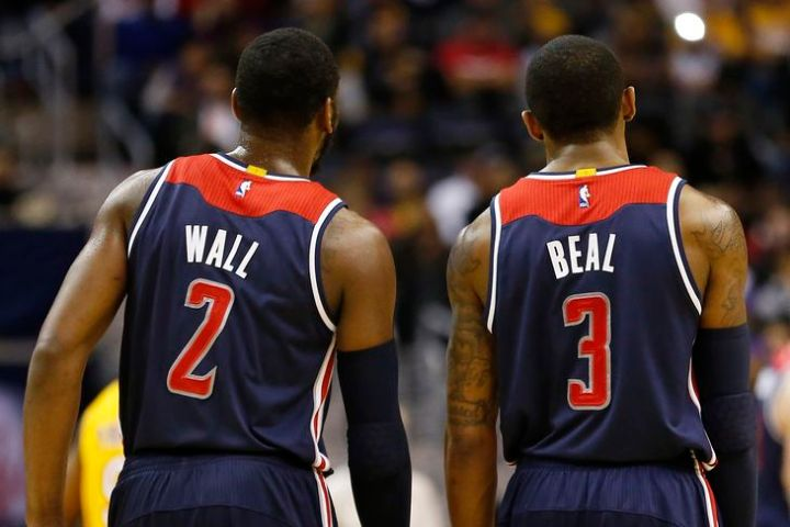 Can John Wall and Bradley Beal lead the Wizards to the Eastern Conference crown? (Getty Images)