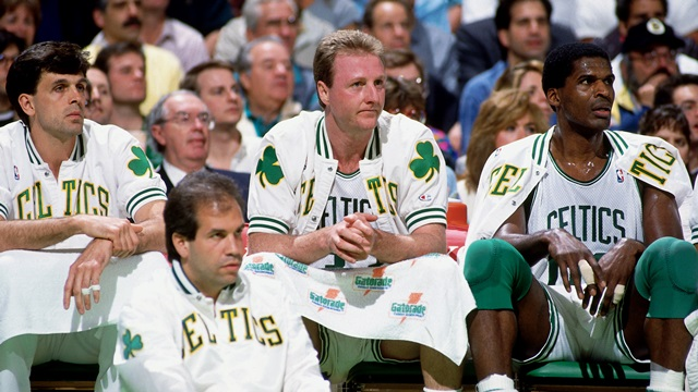 Boston Celtics: Kevin McHale, Robert Parish, Larry Bird