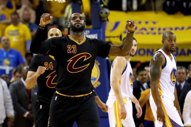 LeBron has a message for everyone who's doubted him. (Getty Images)