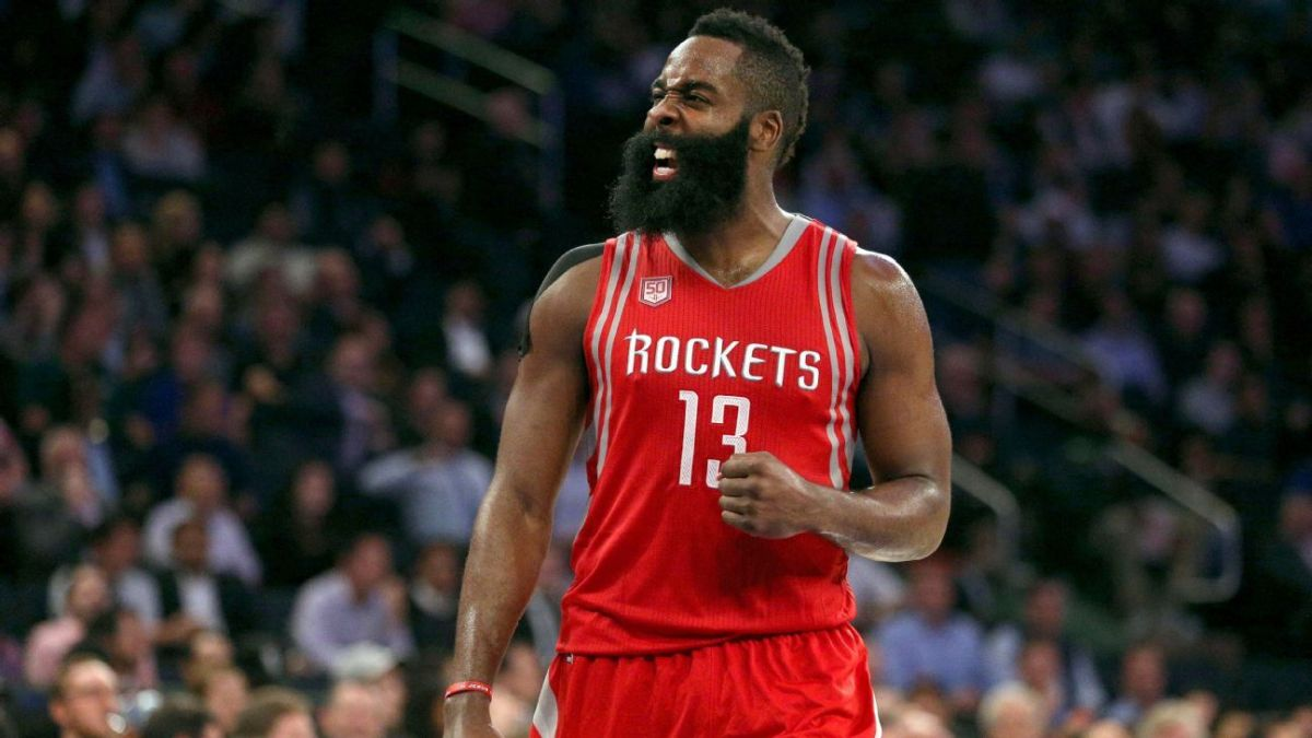 James Harden Leads the League in Assists